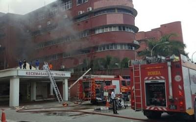 Kebakaran di Hospital Sultanah Aminah meragut 6 nyawa