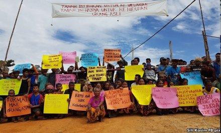 Sosialis Alternatif bersolidariti bersama Orang Asli untuk menuntut hak tanah mereka!