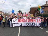 Pertahankan Peserta Protes Jobstown!