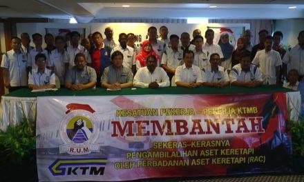 Kesatuan RUM Bantah Perjanjian RNAA!