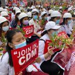 GERAKAN RAKYAT MYANMAR MENENTANG KUDETA KETENTERAAN MENGHADAPI SAAT KRITIKAL