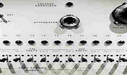 Maskinen som ble brukt i Stanley Milgram eksperimentet