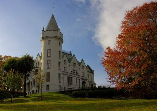 Gamlehaugen Castle, Home of the King when he is in Bergen, Norway_bd5b18271a29cc34b3256a87e8aedc94
