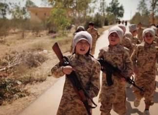 Islamsk stat hugger hender og føtter av barn som ikke vil samarbeide.