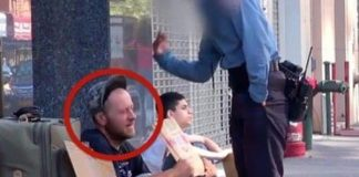 hjemløs mann