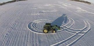 symbol i snøen