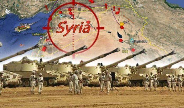 invasjon av syria