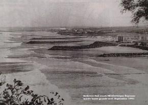 Septembre 1991, marée basse, gros coefficient de marée