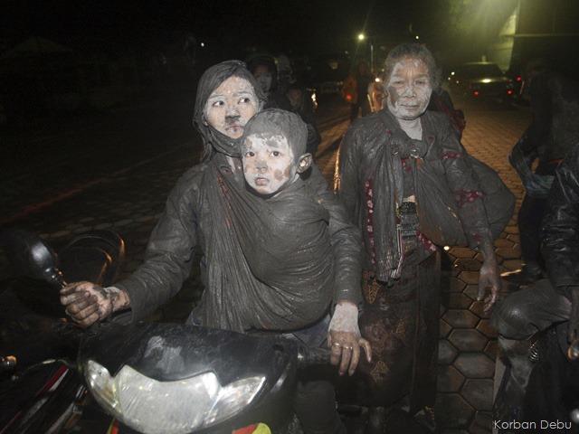 Berkaca Pada Korban Bencana Alam Letusan Gunung Merapi