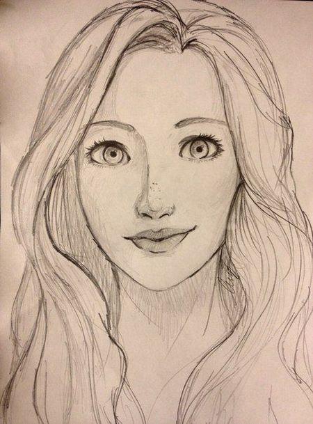 Gambar Wajah Manusia : gambar, wajah, manusia, Contoh, Gambar, Sketsa, Wajah, Dengan, Pensil, Paling, Bagus, Sosmedmu