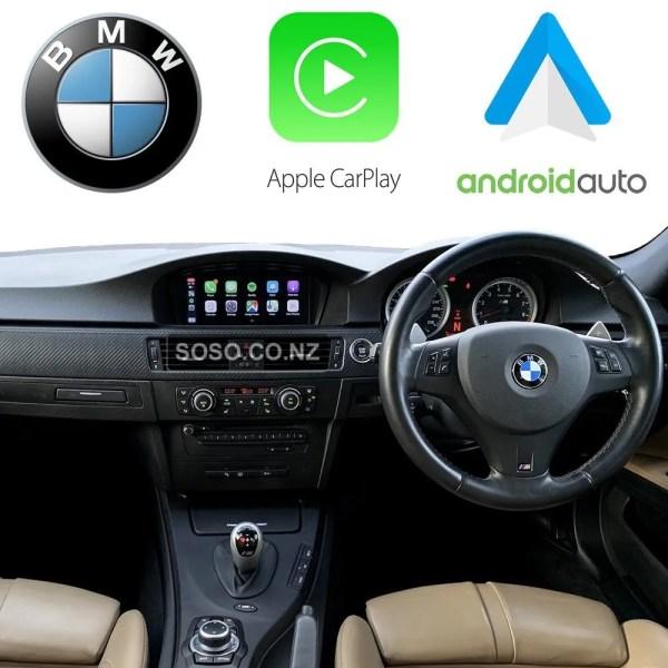 Auto Retrofit - Bmw Cic Idriveapple Carplay &Amp; Android Auto Retrofit Kit (Wireless)