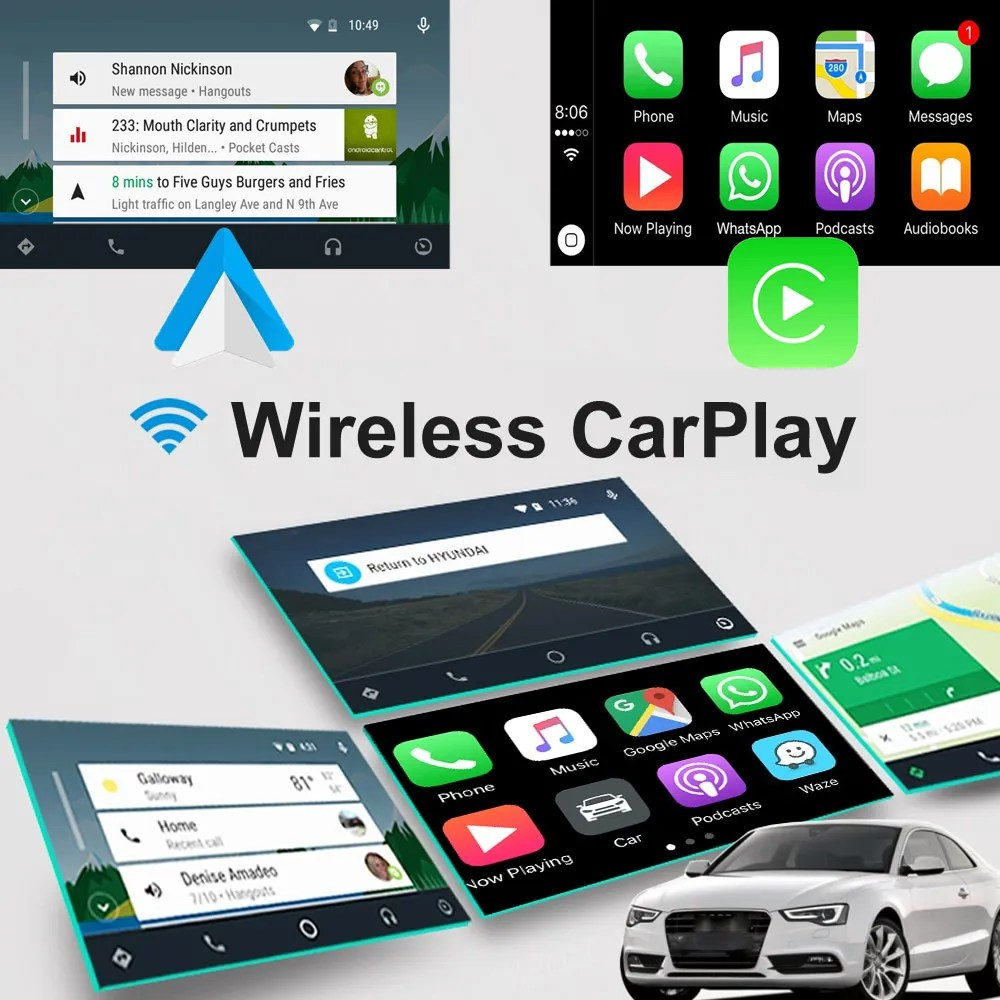 Auto Retrofit - Audi Q5 Sq5 (2009-2015) Apple Carplay &Amp; Android Auto Retrofit Kit