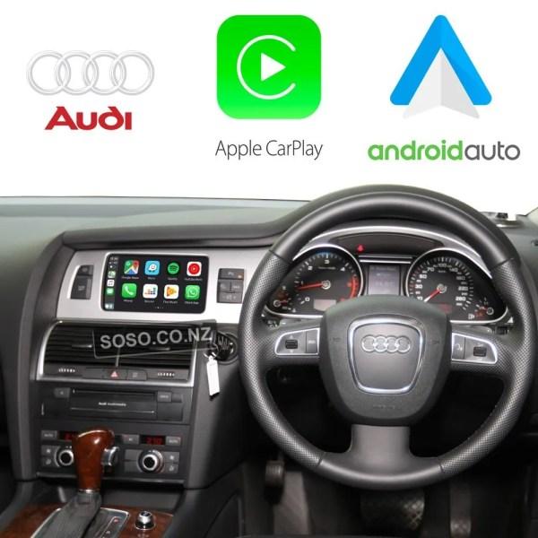 Auto Retrofit - Audi Q7 Sq7 (2010-2015) Apple Carplay &Amp; Android Auto Retrofit Kit