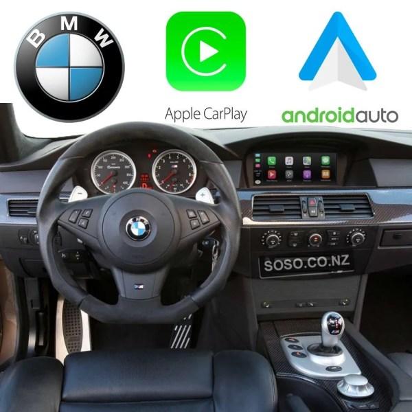 Auto Retrofit - Bmw Ccc Idrive Apple Carplay &Amp; Android Auto Kit (Wireless)