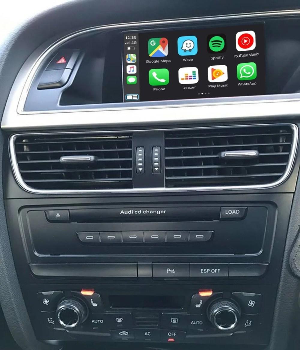 Auto Retrofit - Audi Mmi 2G High Apple Carplay &Amp; Android Auto Kit