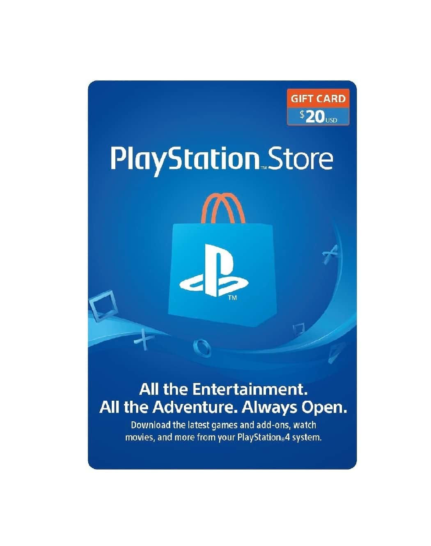 $20 Playstation Wallet Gift Card [Digital Code]