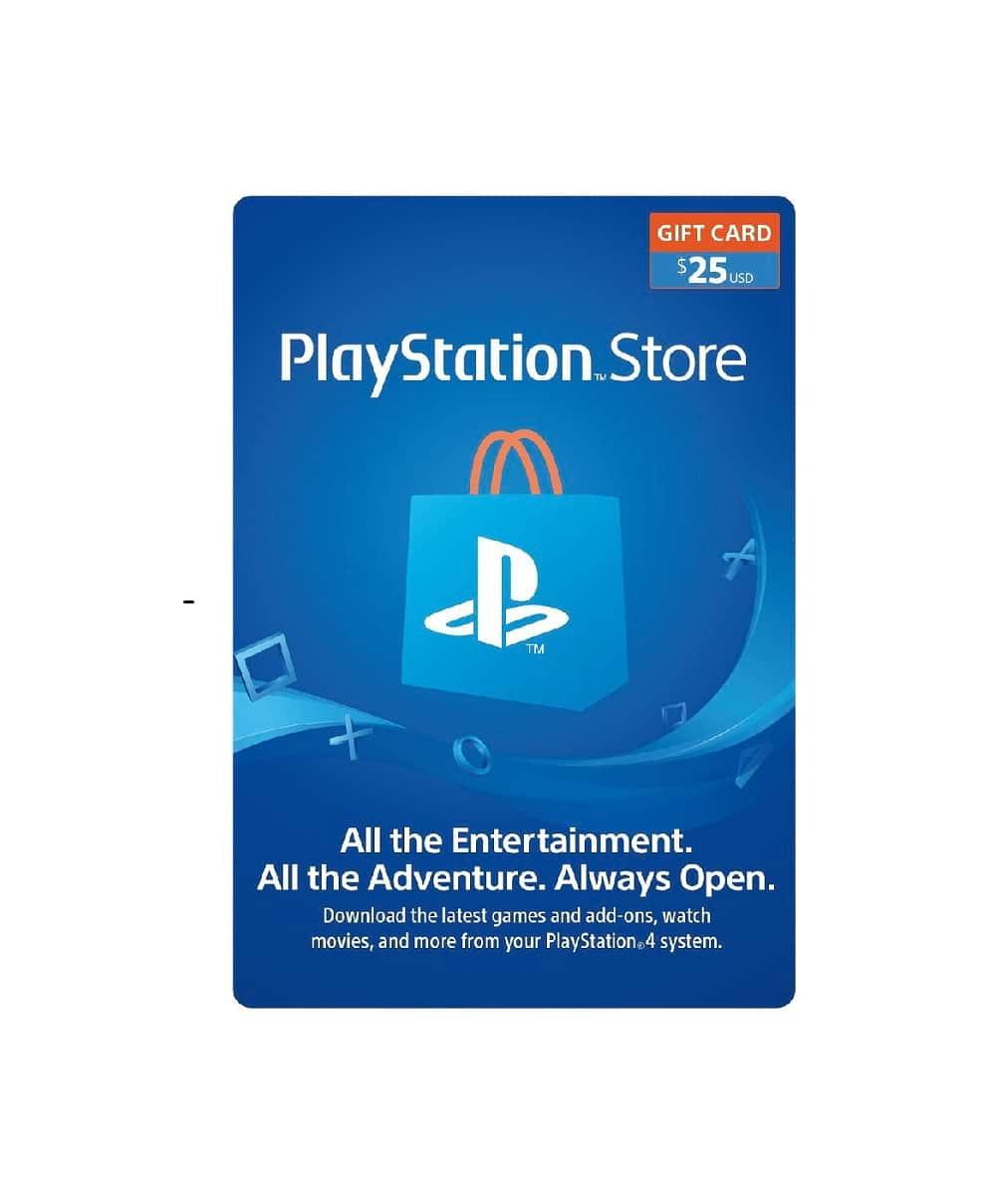 $25 Playstation Wallet Gift Card [Digital Code]