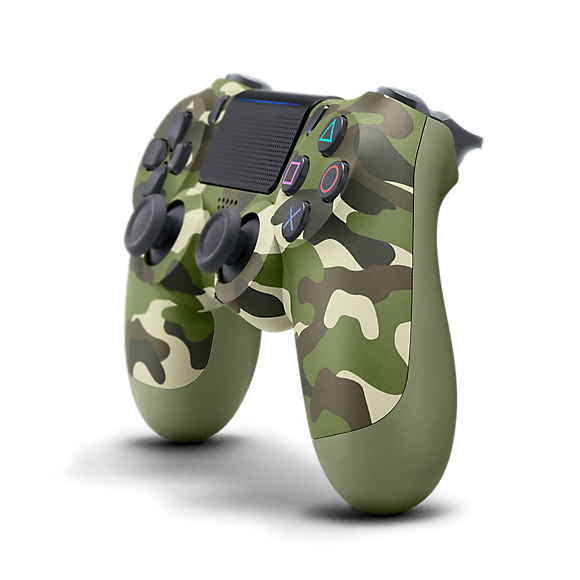Dualshock®4 Wireless Controller For Ps4™ – Green Camouflage 2