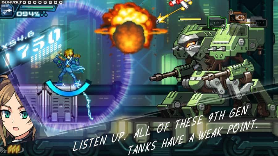 Azure Striker Gunvolt-Striker Pack