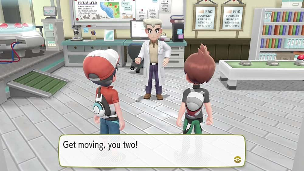 Pokemon Lets Go Eevee Switch Screenshot02