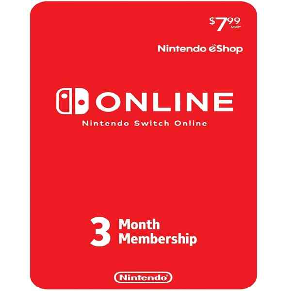 Nintendo Switch Online 3-Month Sosogames