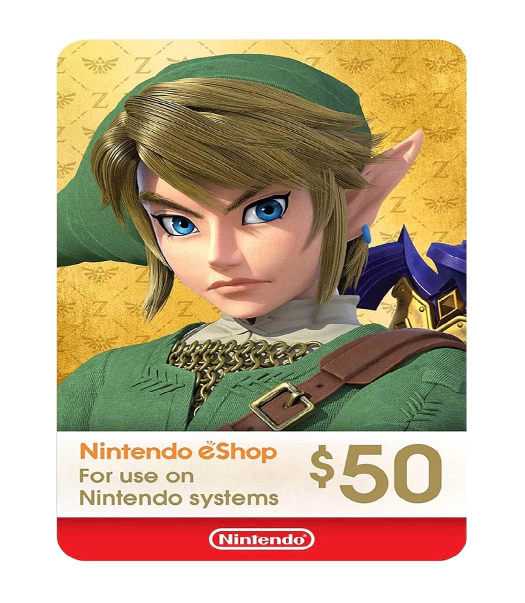 Nintendo $50 Eshop Card Sosogames