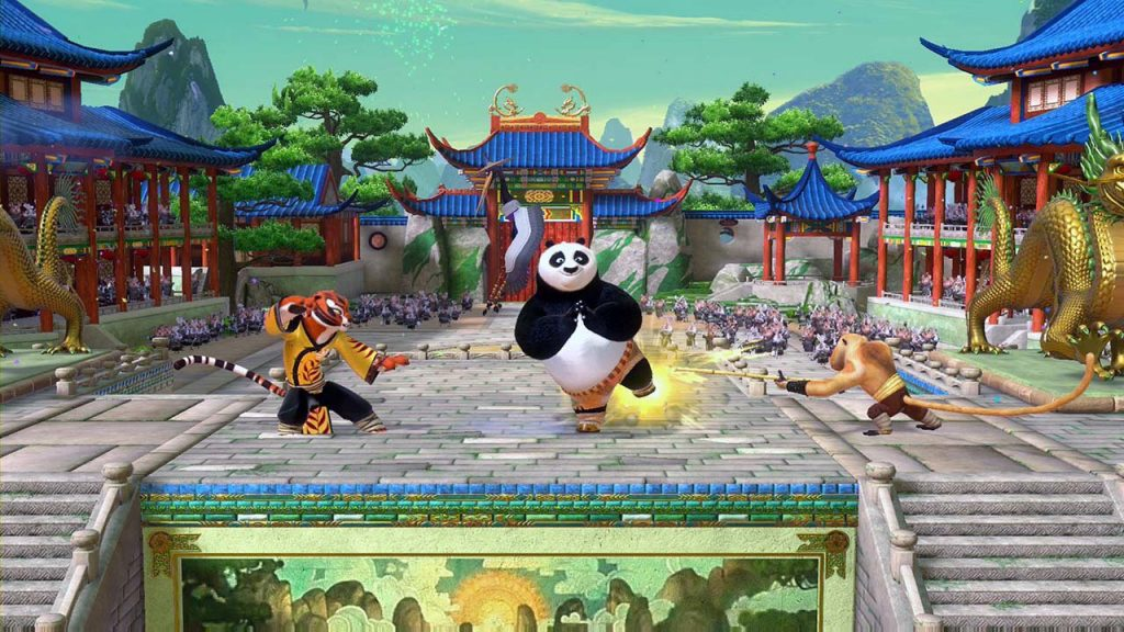 Kung Fu Panda Showdown Of Legendary Legends Screenshot 01 Ps4