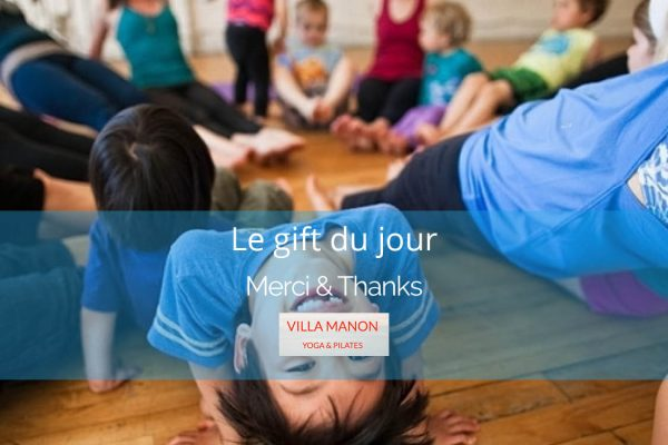 Family Yoga Class gift certificate
