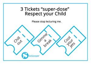 Gift of respect of kids