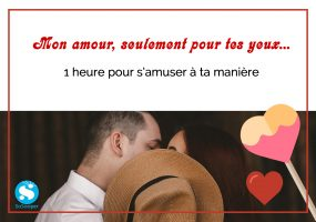 Cheque Cadeau romance en couple