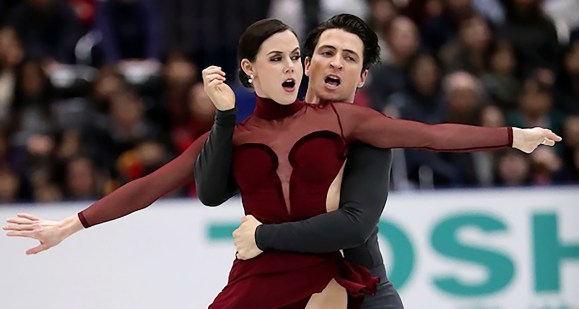 Gold Medalist Virtue and Moir
