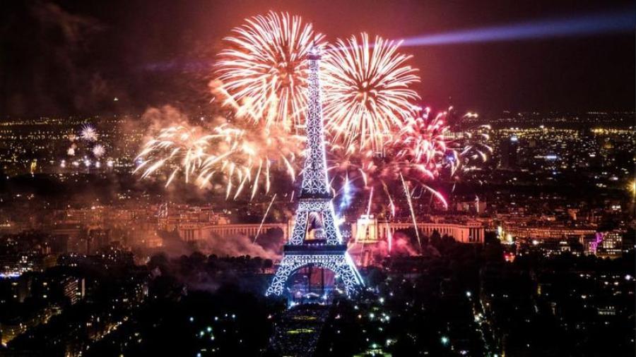 Eiffel Tower July 14