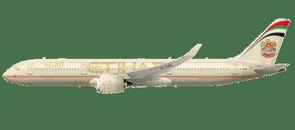 الملف الشخصي للطائرة إيرباص A350XWB على الاتحاد للطيران