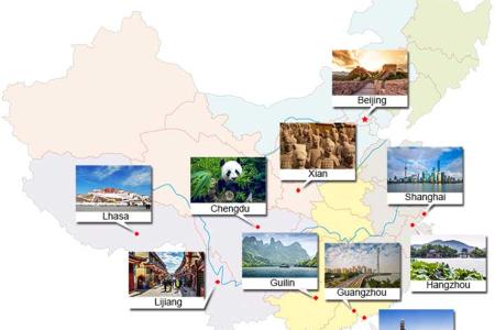 الصين سياحة المسافرون العرب