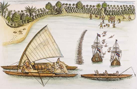 سفن-مداد-زوارق-بعثة-اجتماع-ساحل-أبيل -1643