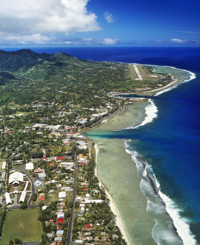 مدينة-أفاروا-مطار-راروتونجا-جزر كوك
