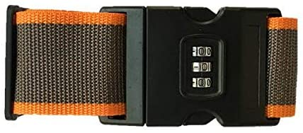 حزام حقيبة السفر مع قفل