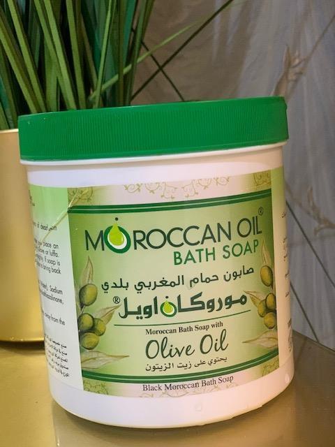 صابون الحمام المغربي