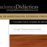 Página web: Publicaciones didácticas