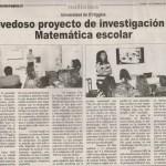Sara Herrera en Chile. Artículo en Diario VI Región
