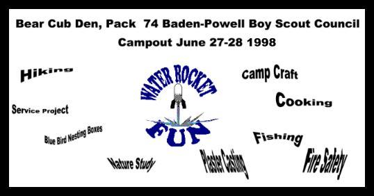 Cub Scout Rocket Mail