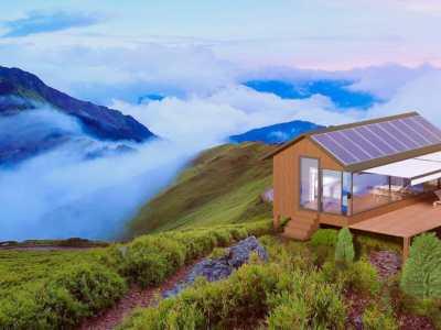 Una tecnología que imprime pequeñas casas solares autosuficientes en 8 horas