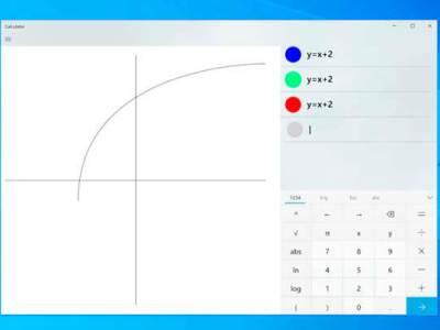 Microsoft planea agregar un modo de gráficos a la calculadora de Windows 10