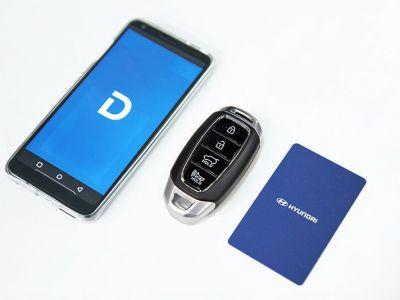 """El celular será la """"Llave Digital"""" en los próximos Hyundai y KIA"""