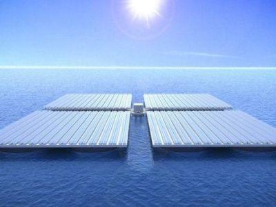 Huertas de paneles solares marinos, el primer paso hacia una economía azul