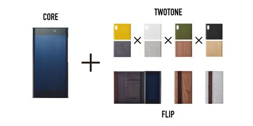Панели Twotone и чехол Flip