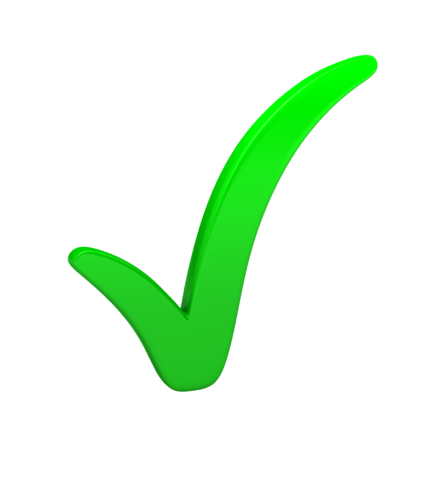 green-check-mark - SOSTENIBILIDAD