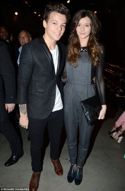 Ex: Louis's impending fatherhood comes just four months after he split from Manchester University graduate Eleanor Calder after four years together