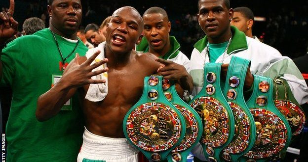 Image result for floyd mayweather belts