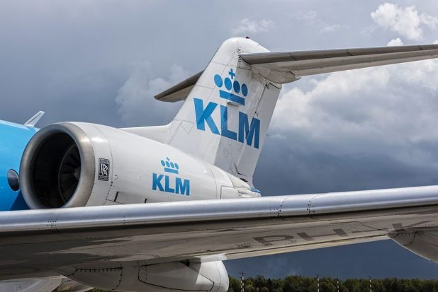 KLM Airlines Man On Plane Mistakes Exit Door For Bathroom Door at 30,000 Feet